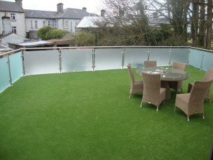 Artificial Grass Roof Garden