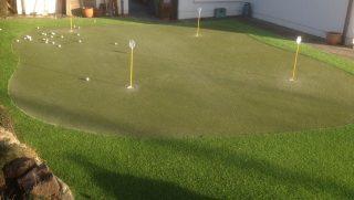 Artificial Grass Putting Green Galway